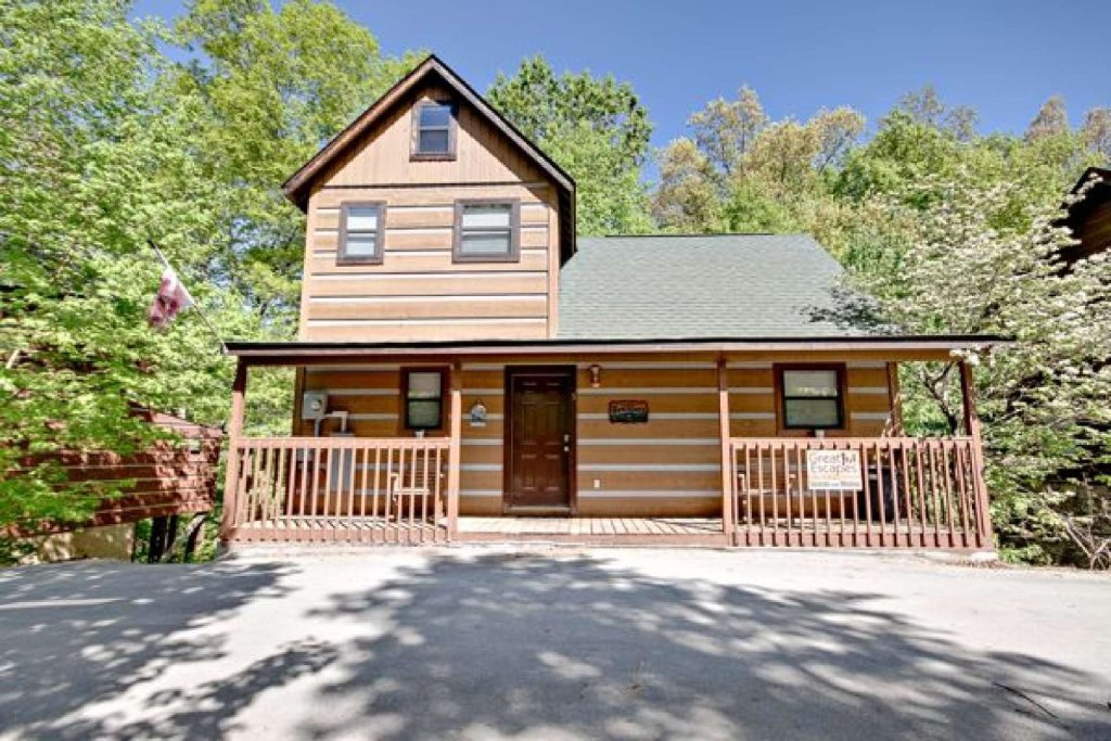 Photo of a Pigeon Forge Cabin named Dances With Wolves - This is the nineteenth photo in the set.
