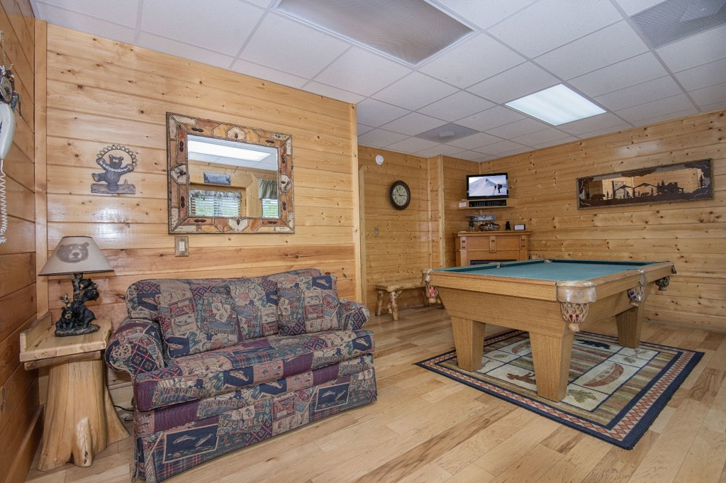 Photo of a Sevierville Cabin named  Eagle's Dream - This is the three hundred and seventy-second photo in the set.