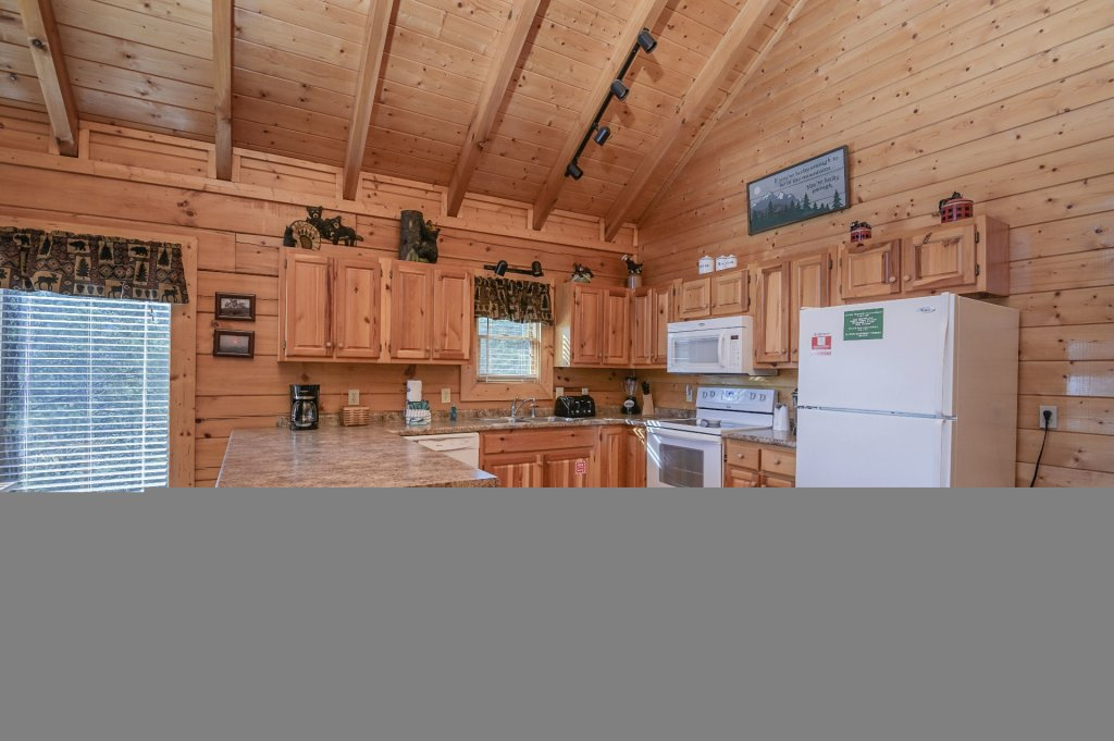 Photo of a Sevierville Cabin named Hillside Retreat - This is the five hundred and thirty-third photo in the set.