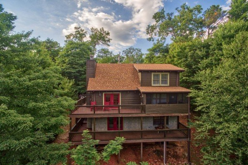 Photo of a Gatlinburg Cabin named Wonders In The Sky - This is the first photo in the set.
