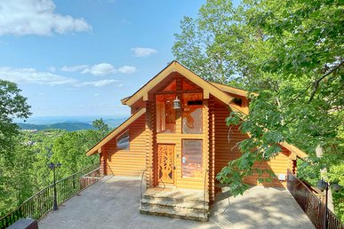 2 Bedroom Luxury Ski Mountain Gatlinburg View Park Cabin Near Ober Ski Resort