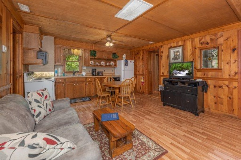 Photo of a Gatlinburg Cabin named Heavenly Hideaway - This is the fourth photo in the set.