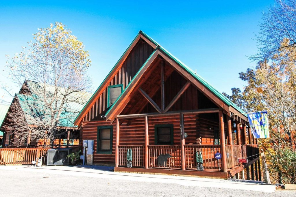 Photo of a Pigeon Forge Cabin named Heaven's Door - This is the thirtieth photo in the set.