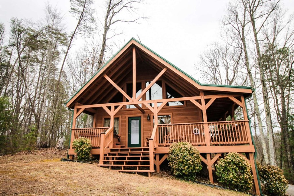 Photo of a Pigeon Forge Cabin named Misty Mountain View - This is the third photo in the set.