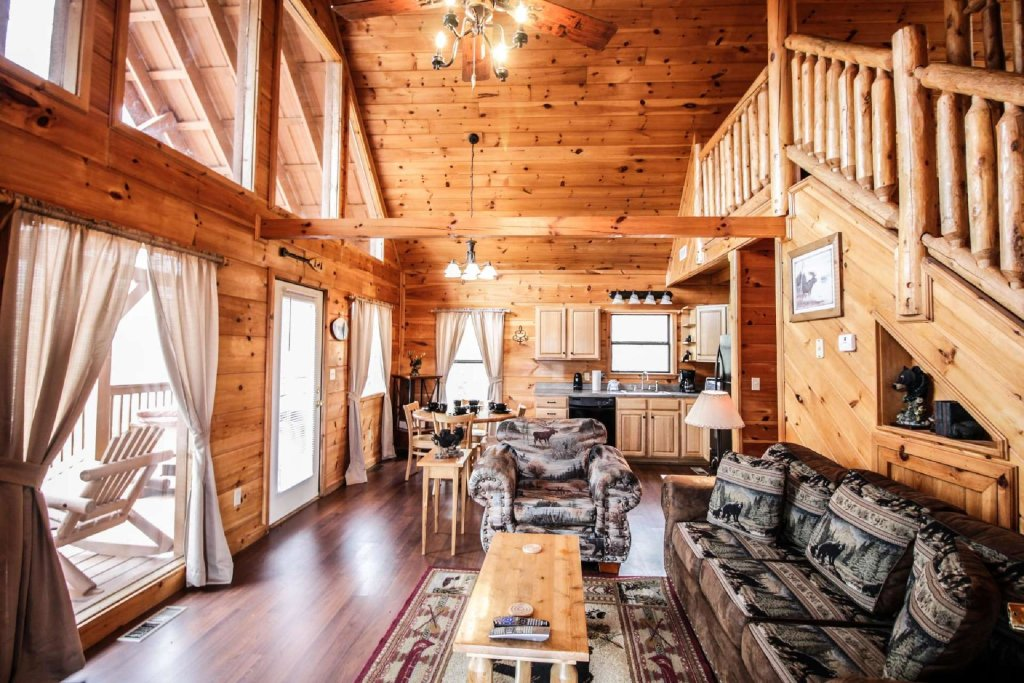 Photo of a Pigeon Forge Cabin named Misty Mountain View - This is the fifth photo in the set.