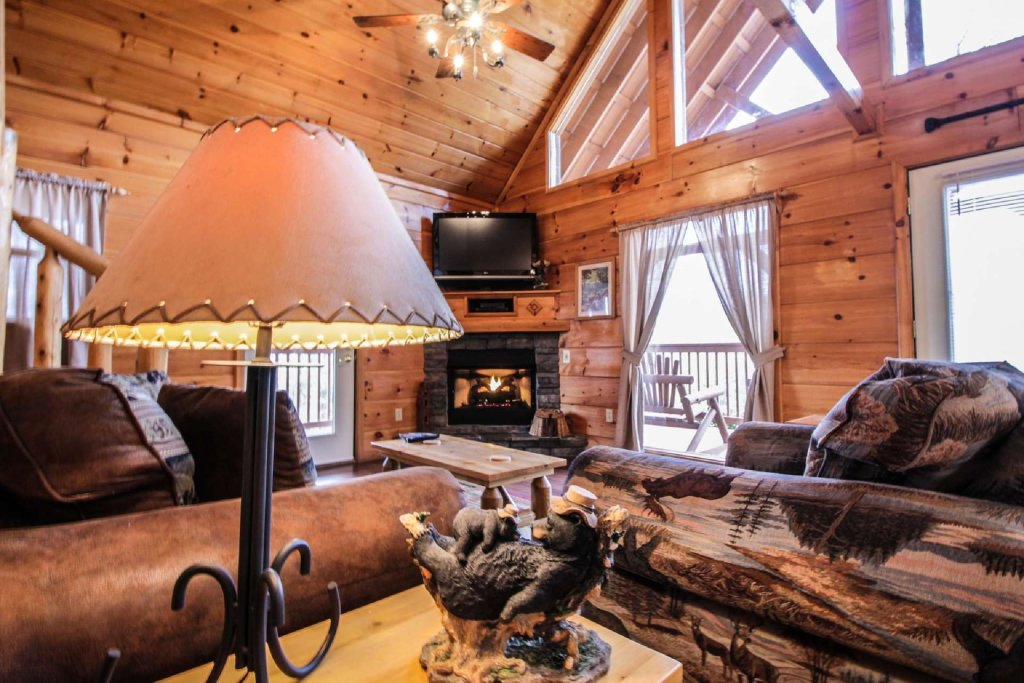 Photo of a Pigeon Forge Cabin named Misty Mountain View - This is the eleventh photo in the set.