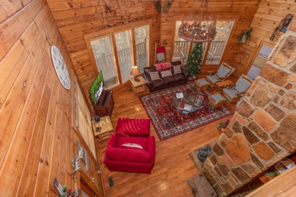 Photo of a Gatlinburg Cabin named The Original American Dream - This is the eighteenth photo in the set.