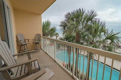 Calypso 203 East - Tower 1, 1 Bedroom, Beachfront, Wi-fi, Pool, Sleeps 6