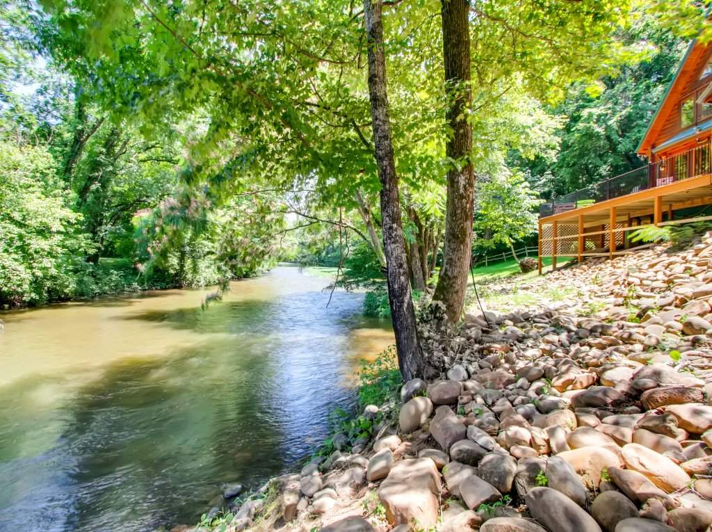 Photo of a Pigeon Forge Cabin named A River Adventure #4237 - This is the third photo in the set.