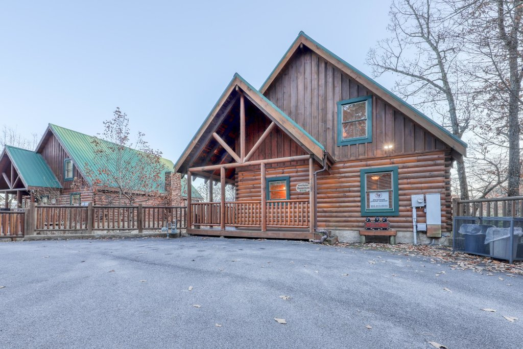 Photo of a Pigeon Forge Cabin named Mountain Dreams At Sherwood - This is the nineteenth photo in the set.