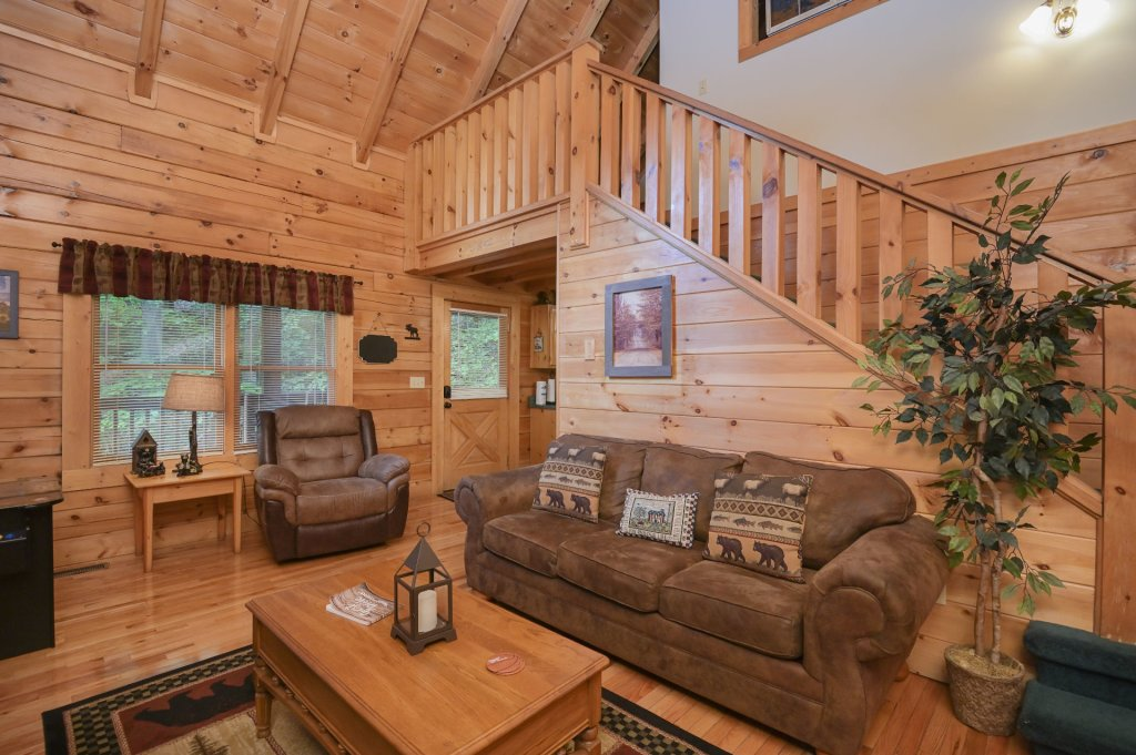 Photo of a Pigeon Forge Cabin named  Treasured Times - This is the five hundred and seventy-fifth photo in the set.