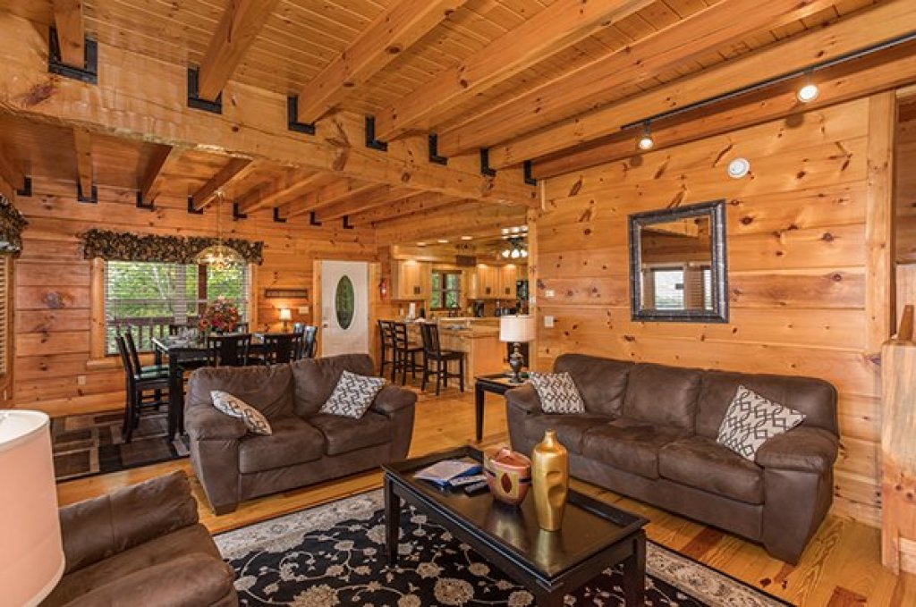 Photo of a Pigeon Forge Cabin named Pigeon Forge View - This is the fifth photo in the set.