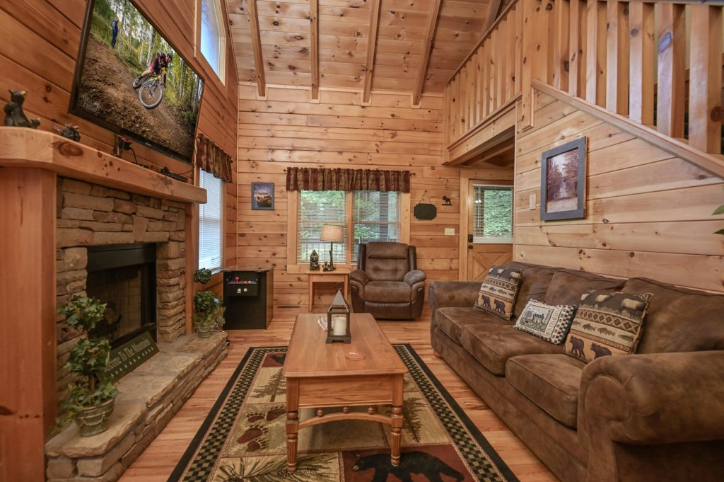 Photo of a Pigeon Forge Cabin named  Treasured Times - This is the two hundred and sixty-fourth photo in the set.