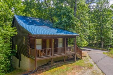 2 King Master Suites, 3 Bath,pet- Friendly Deluxe Cabin For 6 With A Hot Tub.