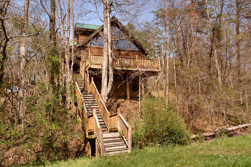 Photo of a Gatlinburg Cabin named Lover's Lake #105 - This is the twenty-eighth photo in the set.