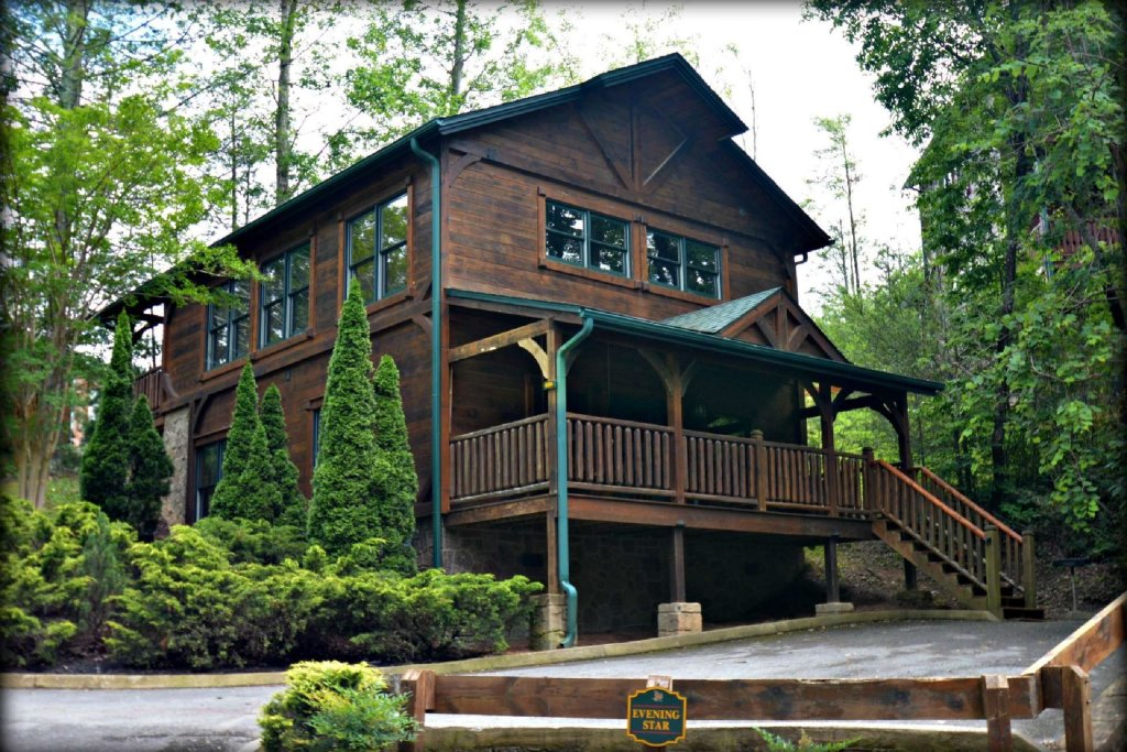 Photo of a Gatlinburg Cabin named Evening Star - This is the fourth photo in the set.