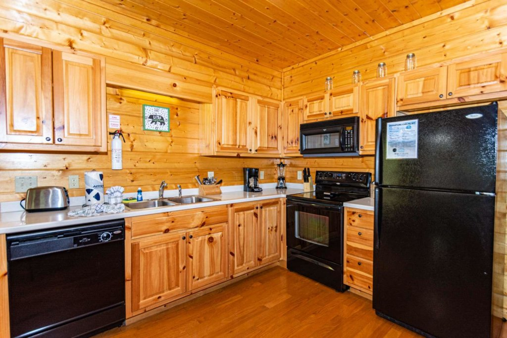 Photo of a Pigeon Forge Cabin named Absolute Dream - This is the fourth photo in the set.