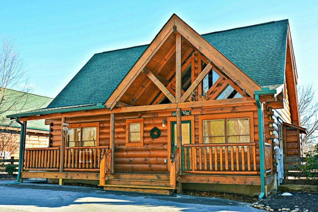 Photo of a Sevierville Cabin named Zip-a-dee-doo - This is the fifth photo in the set.