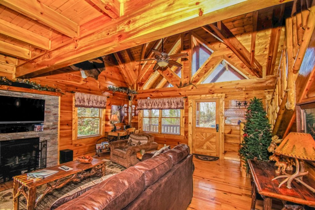Photo of a Sevierville Cabin named Zip-a-dee-doo - This is the eighth photo in the set.