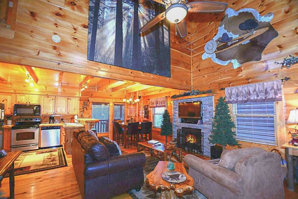 Photo of a Sevierville Cabin named Zip-a-dee-doo - This is the first photo in the set.