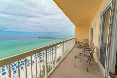 Calypso 1006 East - Tower I, 3 Bedrooms, Beachfront, Wi-fi, Sleeps 8