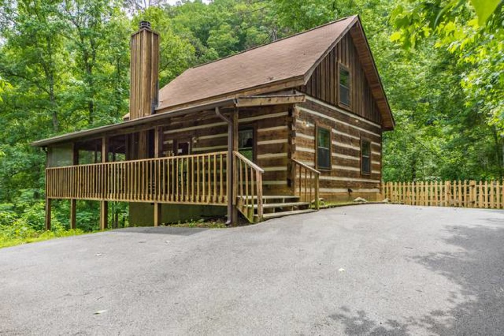 Photo of a Sevierville Cabin named Simply Serene #201 - This is the first photo in the set.