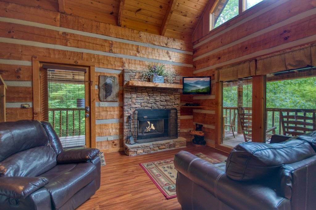 Photo of a Sevierville Cabin named Simply Serene #201 - This is the fifth photo in the set.