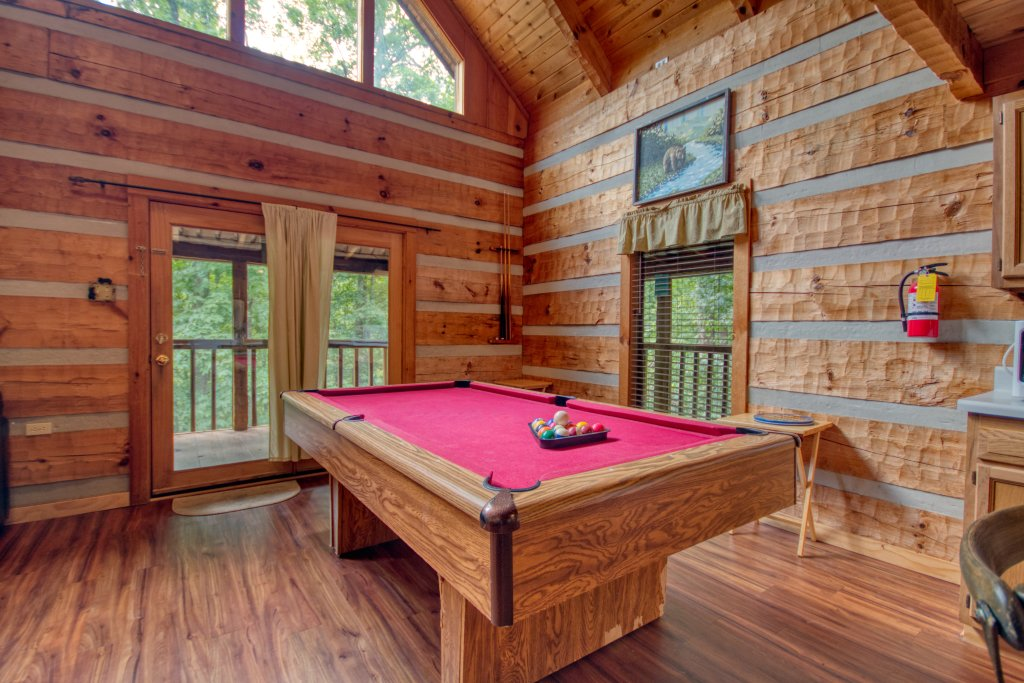 Photo of a Sevierville Cabin named Simply Serene #201 - This is the ninth photo in the set.