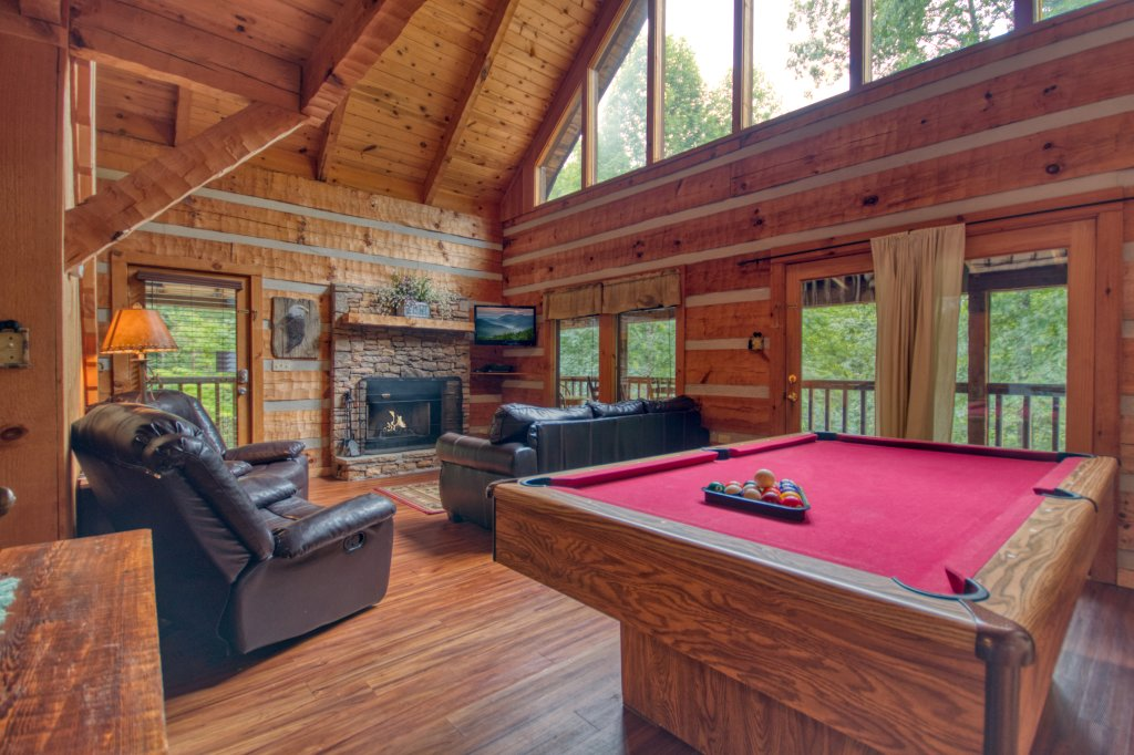 Photo of a Sevierville Cabin named Simply Serene #201 - This is the sixth photo in the set.