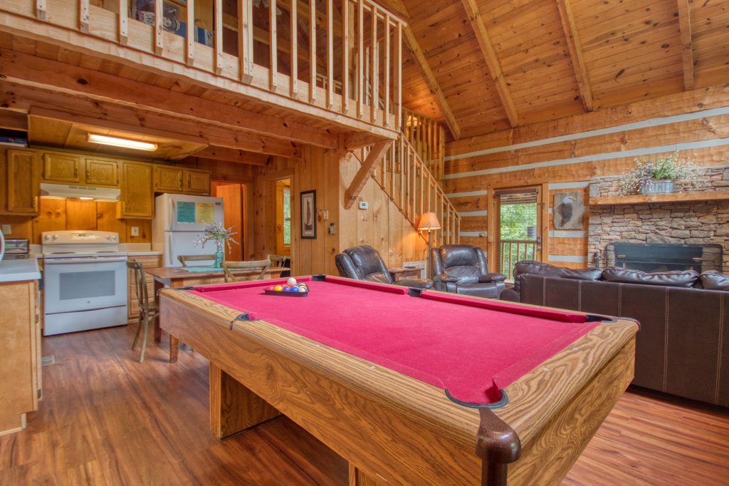 Photo of a Sevierville Cabin named Simply Serene #201 - This is the eighth photo in the set.