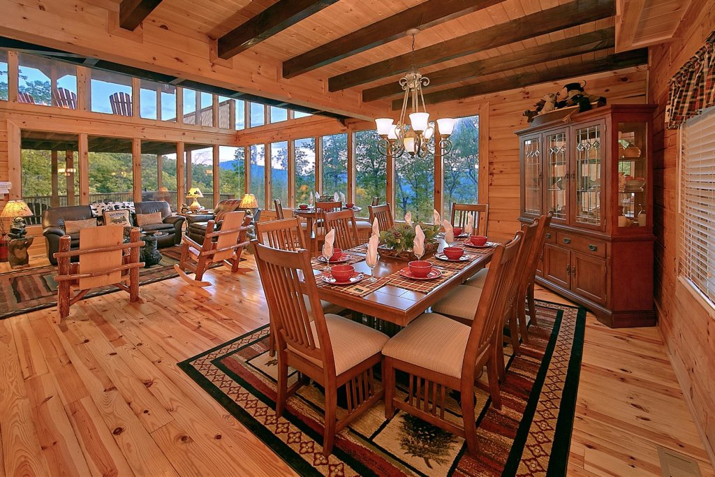Photo of a Sevierville Cabin named Mountain Magic #73 - This is the fifth photo in the set.