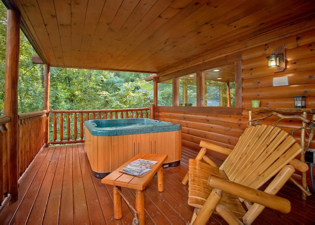 Photo of a Sevierville Cabin named Southern Elegance #70 - This is the third photo in the set.