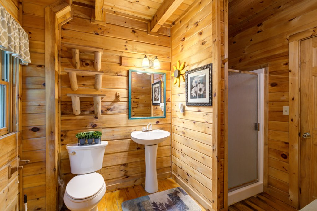 Photo of a Sevierville Cabin named Hook's Haven #2 - This is the fifteenth photo in the set.