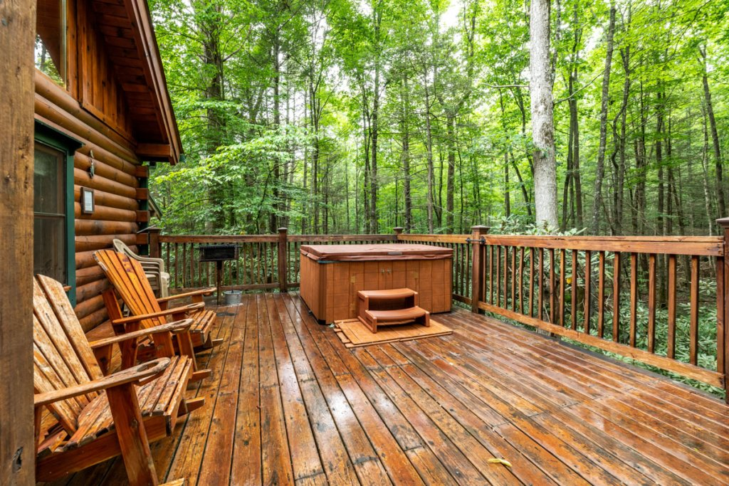 Photo of a Sevierville Cabin named Hook's Haven #2 - This is the twenty-sixth photo in the set.