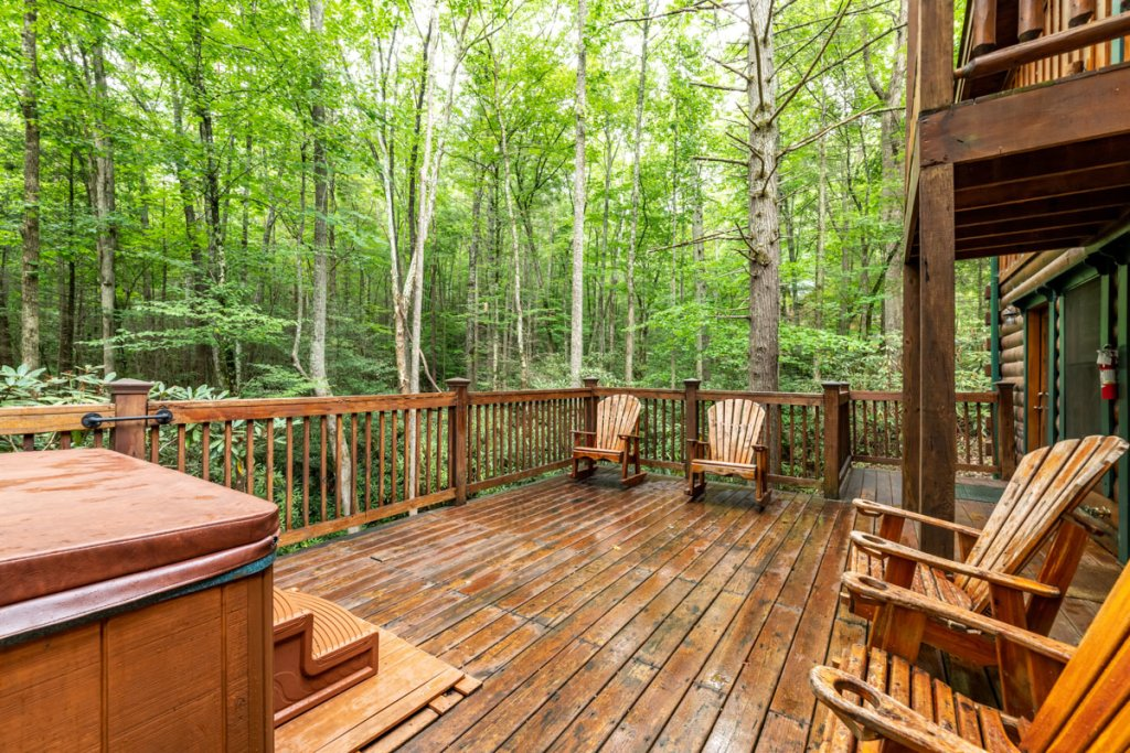 Photo of a Sevierville Cabin named Hook's Haven #2 - This is the twenty-seventh photo in the set.