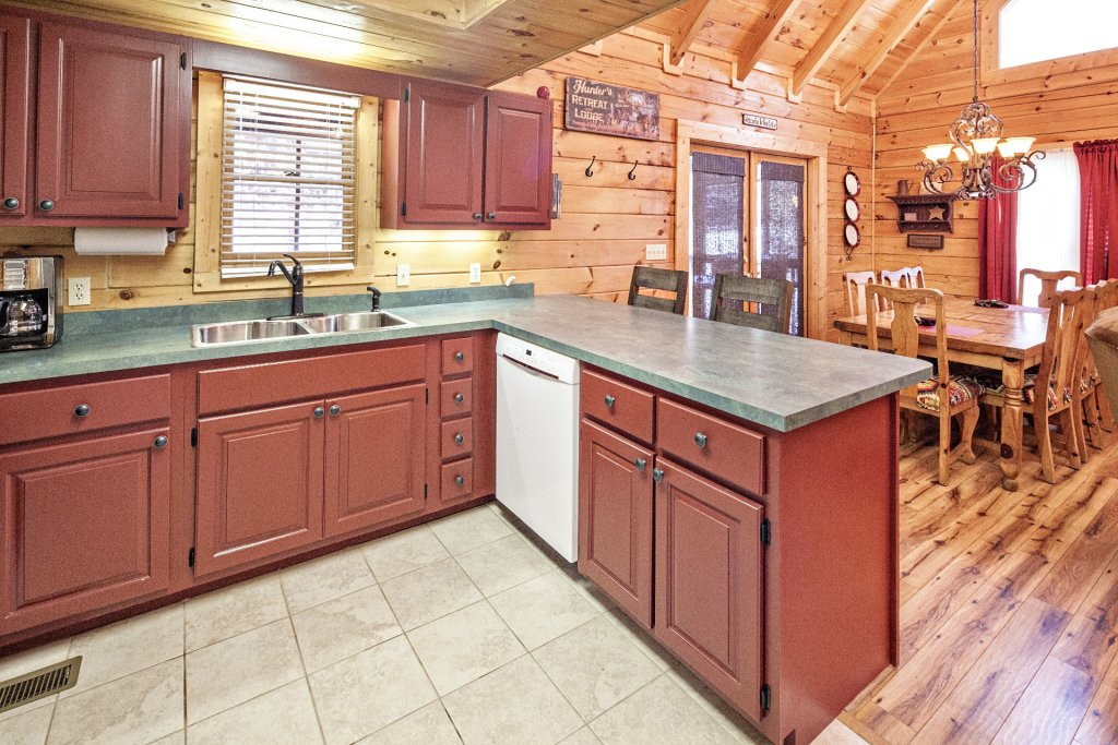 Photo of a Pigeon Forge Cabin named  Mountain Charm - This is the ninth photo in the set.