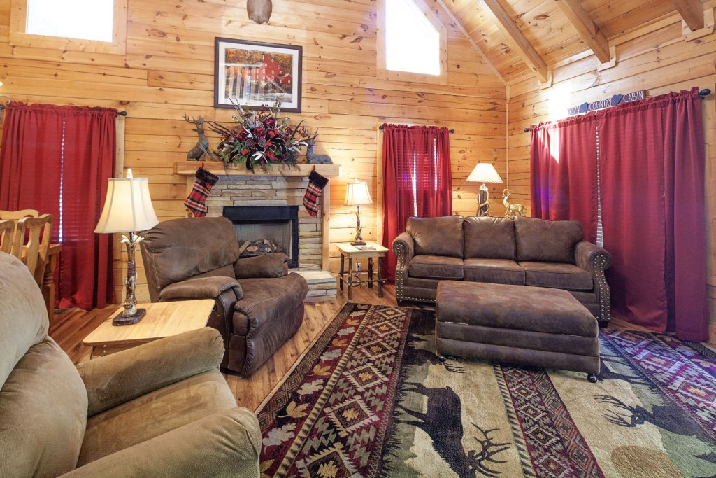 Photo of a Pigeon Forge Cabin named  Mountain Charm - This is the seventh photo in the set.