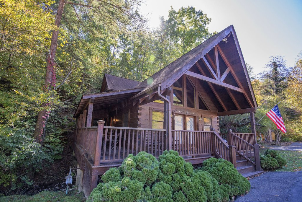 Photo of a Pigeon Forge Cabin named  The Bear Pause - This is the first photo in the set.