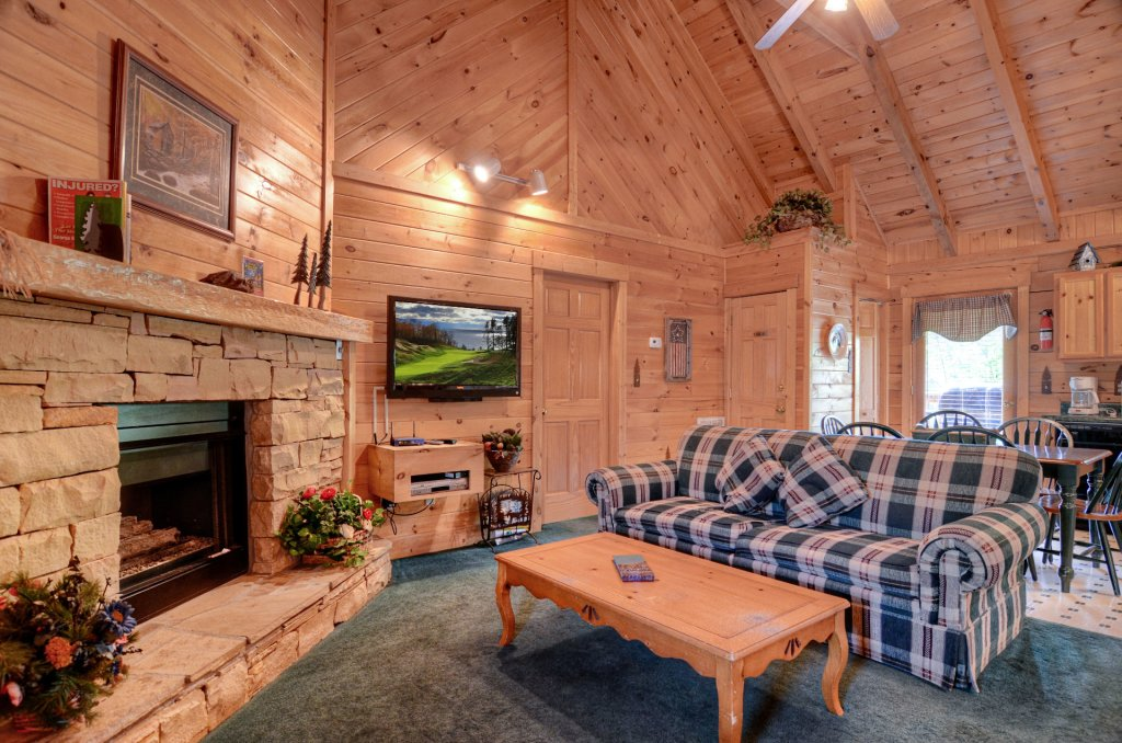 Photo of a Pigeon Forge Cabin named  Palmetto Place - This is the second photo in the set.