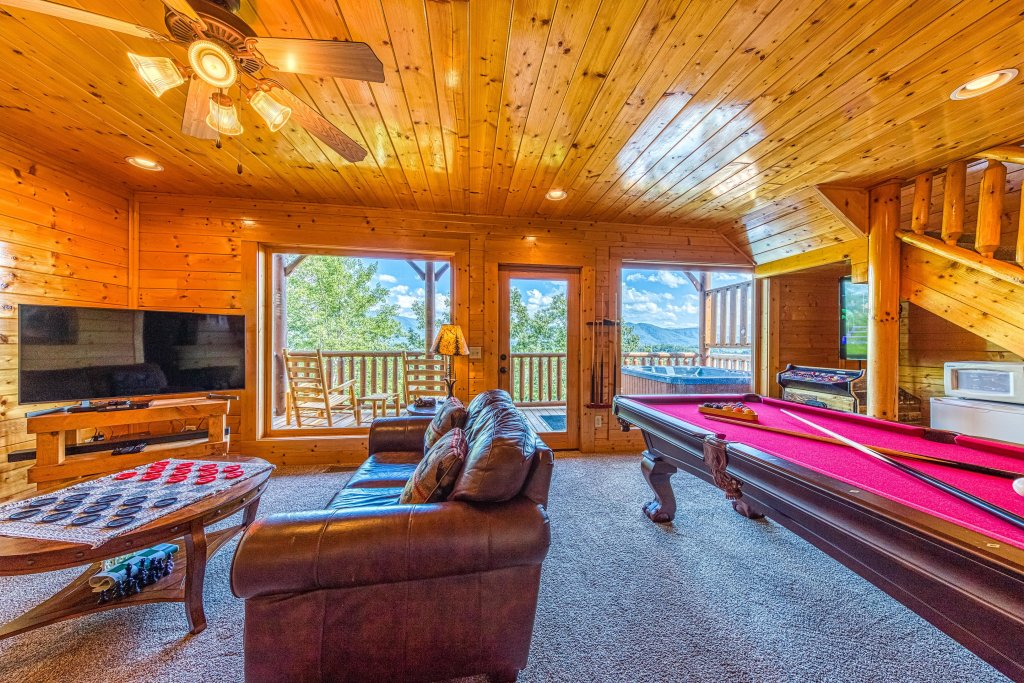 Photo of a Sevierville Cabin named Bella Vista - This is the fifteenth photo in the set.