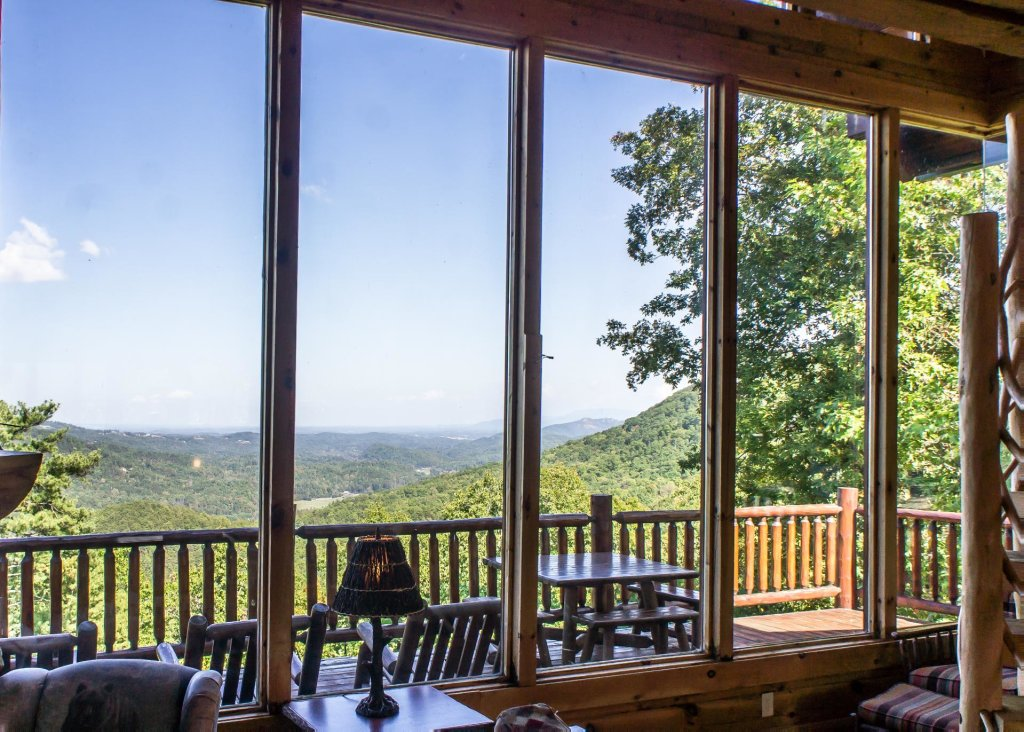 Photo of a Sevierville Cabin named Fox Ridge #37 - This is the second photo in the set.