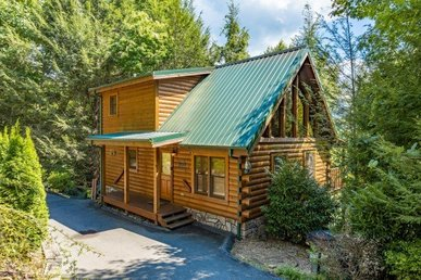 A 3 Bedroom, 3 Bath, Deluxe Cabin For 10 With A Hot Tub And Pool Table.