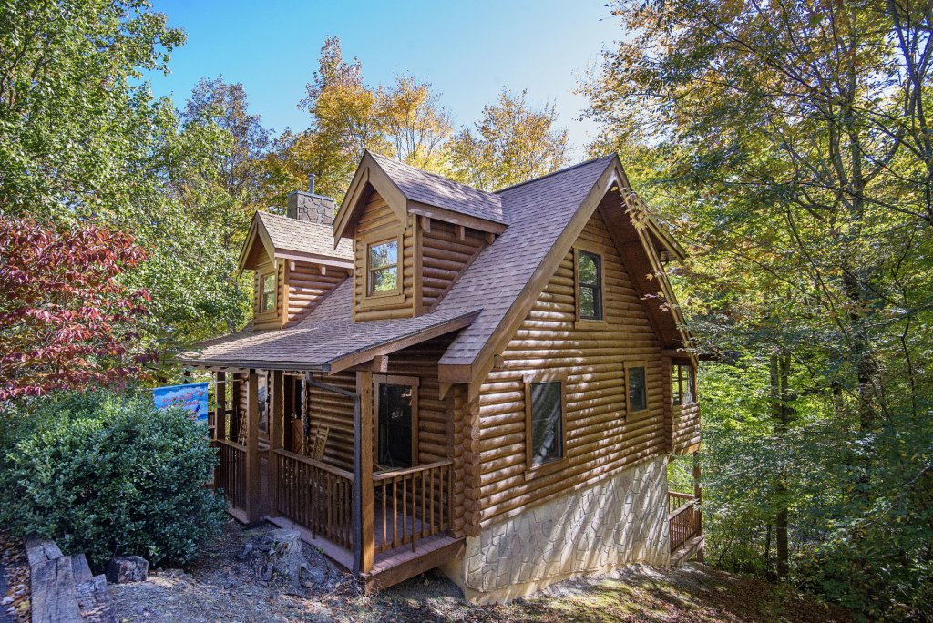 Photo of a Pigeon Forge Cabin named  The Great Escape - This is the second photo in the set.
