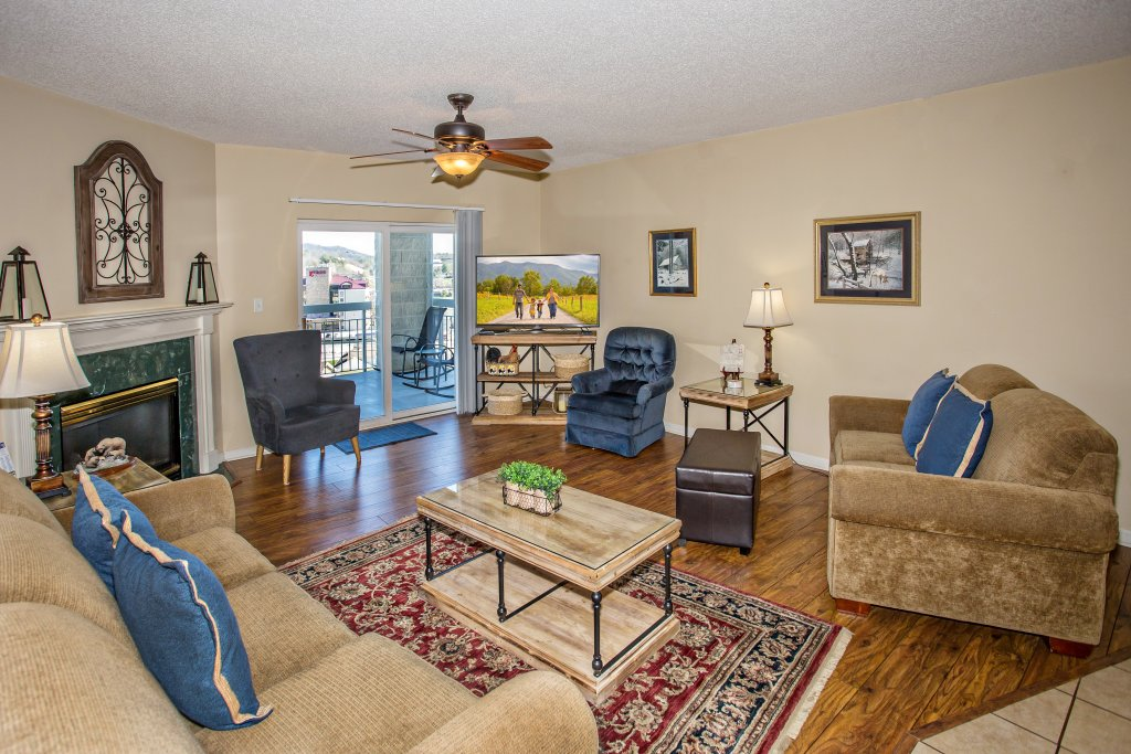 Photo of a Pigeon Forge Condo named Whispering Pines 104 - This is the fourth photo in the set.
