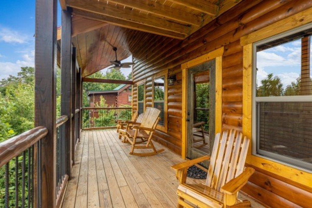 Photo of a Gatlinburg Cabin named Pool & A View - This is the fourteenth photo in the set.