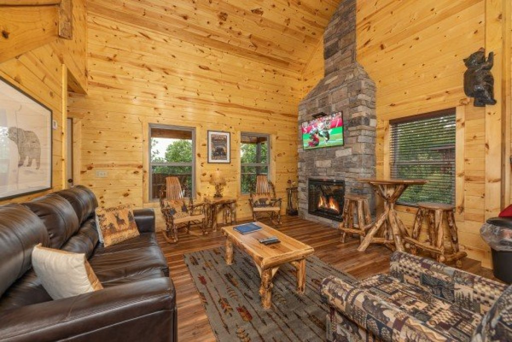 Photo of a Gatlinburg Cabin named Pool & A View - This is the sixth photo in the set.