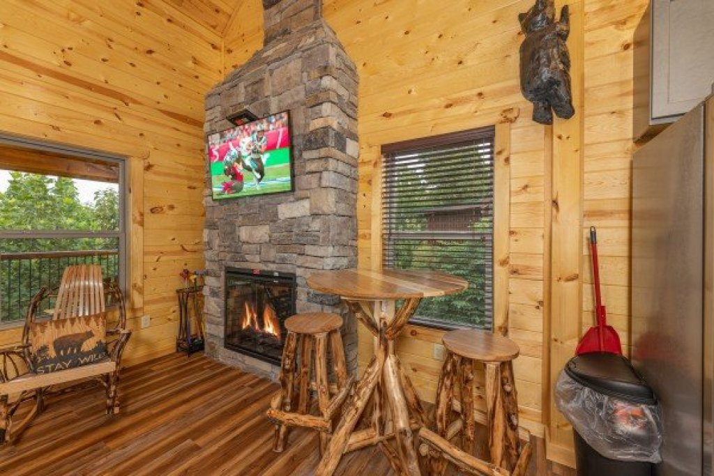 Photo of a Gatlinburg Cabin named Pool & A View - This is the tenth photo in the set.