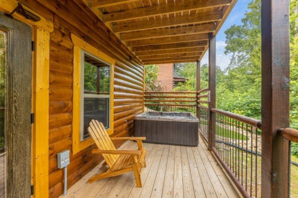 Photo of a Gatlinburg Cabin named Pool & A View - This is the twenty-seventh photo in the set.