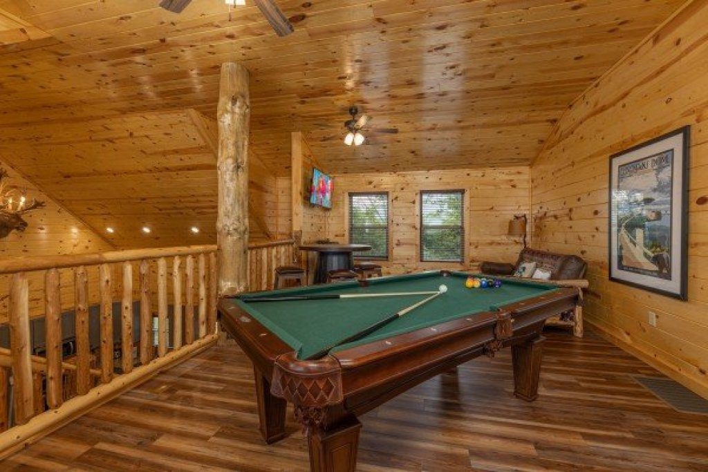 Photo of a Gatlinburg Cabin named Pool & A View - This is the seventeenth photo in the set.