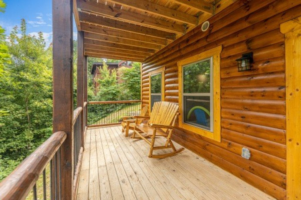 Photo of a Gatlinburg Cabin named Pool & A View - This is the twenty-sixth photo in the set.